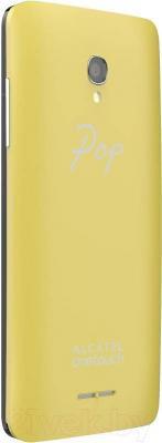 Смартфон Alcatel One Touch 5022D (белый/зеленый/желтый) - сменная задняя панель
