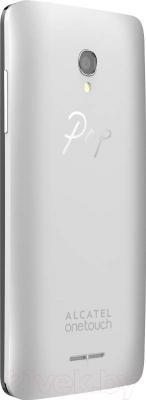 Смартфон Alcatel One Touch 5022D (белый/золотой/серебристый) - сменная задняя панель