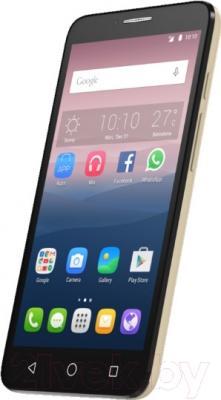 Смартфон Alcatel One Touch 5054D (золотой)