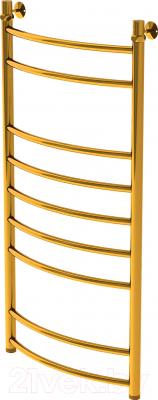 Полотенцесушитель водяной Gloss Reiter Raduga.Л. 50х100.Д9.G1 (Gold)