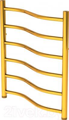 Полотенцесушитель водяной Gloss & Reiter Wave Л. 50х60.В6.G1 (Gold)