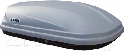 Автобокс Lux 390 360L 841825 (серый матовый) - вид сбоку