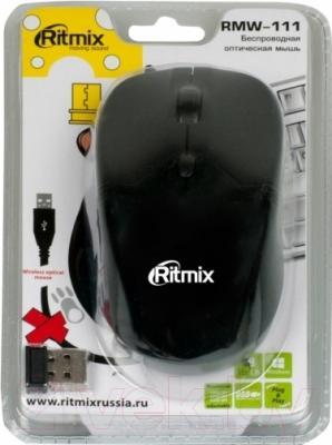Мышь Ritmix RMW-111 (черный)