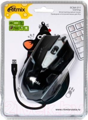 Мышь Ritmix ROM-311 (черный)