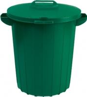 Контейнер для мусора Curver 02974-385-66 / 173554 (90 л, зеленый) -