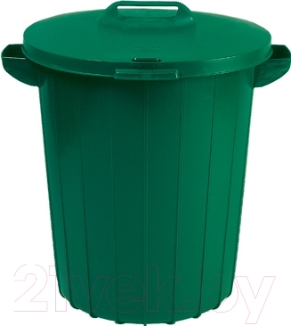 Контейнер для мусора Curver 02974-385-66 / 173554 (90 л, зеленый)