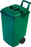 Контейнер для мусора Curver 04122-385-00 / 154907 (90 л, зеленый) -