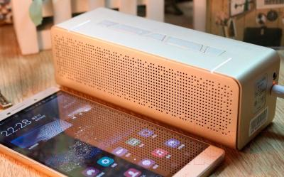 Портативная колонка Microlab T5 Bluetooth (золото)