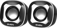 Мультимедиа акустика Sven 170 (черный/белый) -