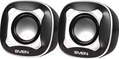 Мультимедиа акустика Sven 170 (черный/белый)