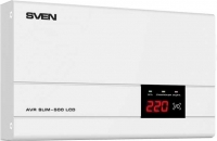 Стабилизатор напряжения Sven AVR SLIM-500 LCD -