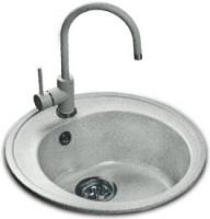 Мойка кухонная Эко-М M-08 (серый) -
