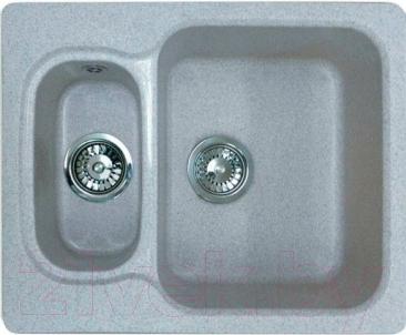 Мойка кухонная Эко-М M-09 (серый)