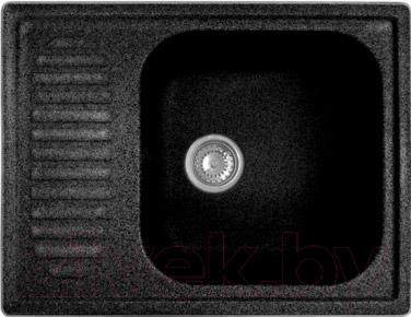 Мойка кухонная Эко-М M-13 (черный)