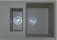 Мойка кухонная Эко-М M-21K (серый) -