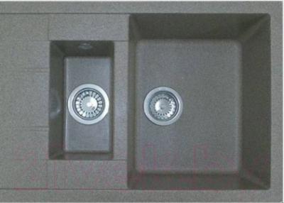 Мойка кухонная Эко-М M-21K (серый)