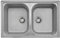 Мойка кухонная Эко-М M-78K (серый) -