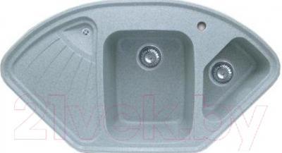 Мойка кухонная Эко-М M-14K (серый)