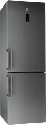 Холодильник с морозильником Indesit DF 6181 X