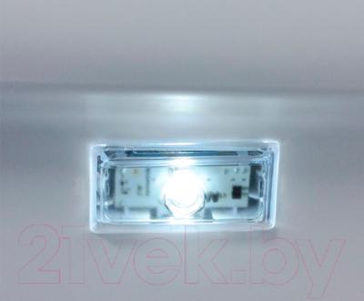 Холодильник с морозильником Hotpoint HF 8201 X OSR