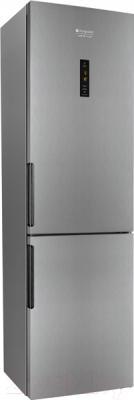 Холодильник с морозильником Hotpoint HF 7201 X RO