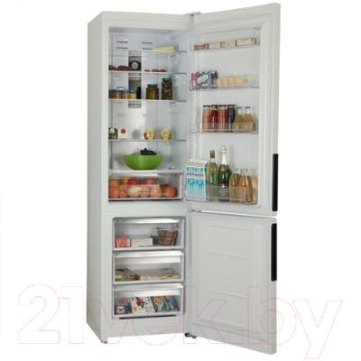 Холодильник с морозильником Hotpoint HF 7200 W O