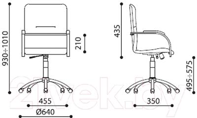 Кресло офисное Новый Стиль SAMBA Ultra GTP (ECO-21, 1.031)