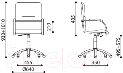 Кресло офисное Nowy Styl SAMBA Ultra GTP (ECO-21, 1.031)