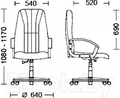Кресло офисное Nowy Styl Classic (C-24)