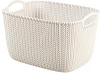 Корзина Curver Knit L 03670-X64-00 / 226379 (белый) -