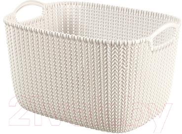 Корзина Curver Knit L 03670-X64-00 / 226379 (белый)