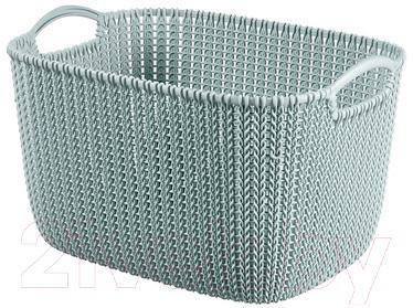 Корзина Curver Knit L 03670-X60-00 / 226380 (синий)