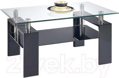 Журнальный столик Halmar Diana H (черный лак)