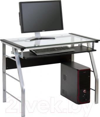Компьютерный стол Halmar B-18 (черный)
