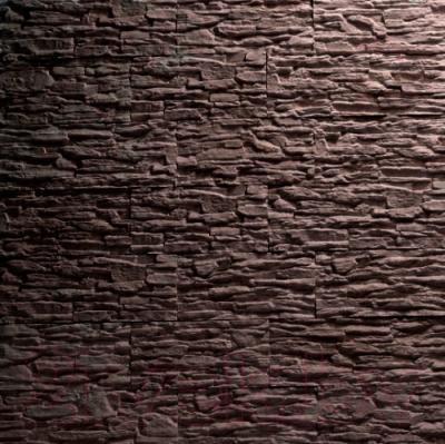 Декоративный камень Royal Legend Сланец коричневый 01-780 (360х85х10-15)