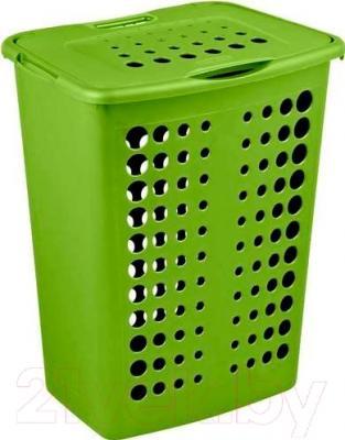 Корзина для белья Curver Victor 00047-560-08 / 208511 (зеленый)