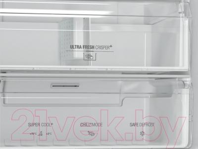 Холодильник с морозильником Hotpoint HF 9201 X RO
