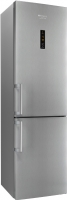 Холодильник с морозильником Hotpoint HF 8201 X RO -