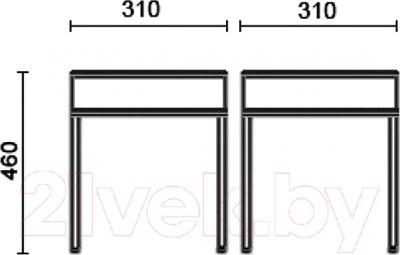 Табурет Новый Стиль Tutti Chrome (V-49)