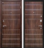 Входная дверь МеталЮр М1 Темный шоколад (86x206, правая) -