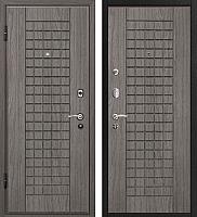 Входная дверь МеталЮр М4 Грей/грей (86x206, левая) -