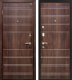 Входная дверь МеталЮр М1 Темный шоколад (86x206, левая) -
