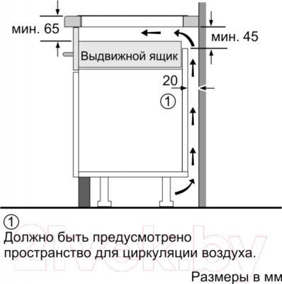 Электрическая варочная панель Bosch PVS651FB1E