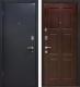 Входная дверь МеталЮр М21 Черный бархат/венге (96x206, левая) -