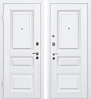 Входная дверь МеталЮр М11 Белый/белый (96x206, левая) -