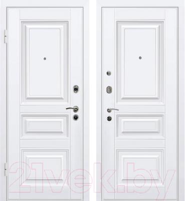 цены на белые входные двери