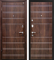 Входная дверь МеталЮр М1 Темный шоколад (96x206, левая) -