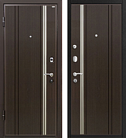 Входная дверь МеталЮр М2 Темный шоколад (96x206, левая) -