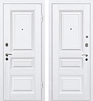 Входная дверь МеталЮр М11 Белый/белый (96x206, правая) -