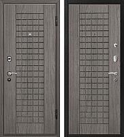 Входная дверь МеталЮр М4 Грей/грей (96x206, правая) -